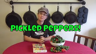How to Pickle Homegrown Jalapeno Peppers!