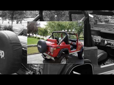 Jeep CJ7 Speaker Box Concept 2009 Part Two  YouTube