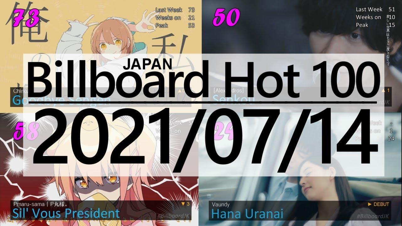 Top 100 of Billboard Japan Hot 100 (2021/07/14)