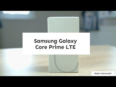 Samsung Galaxy Core Prime LTE Rozpakowanie Unboxing PL | Robert Nawrowski