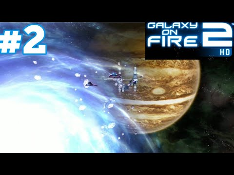 Galaxy On Fire 2 HD Android IOS Gameplay Walkthrough #2 The Voids