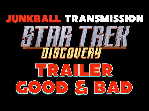 Star Trek Discovery Trailer Review Breakdown Analysis