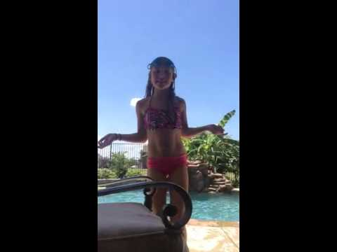 Pool  challenges-little Emily