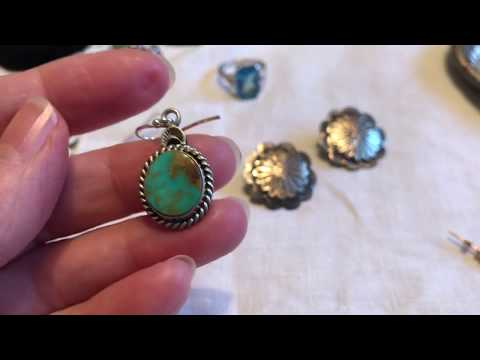 Garage Sale Finds Video #193:  Jewelry!!  Plus A Few Extra Goodies