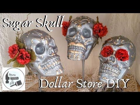 DIY Dollar Tree Sugar Skull