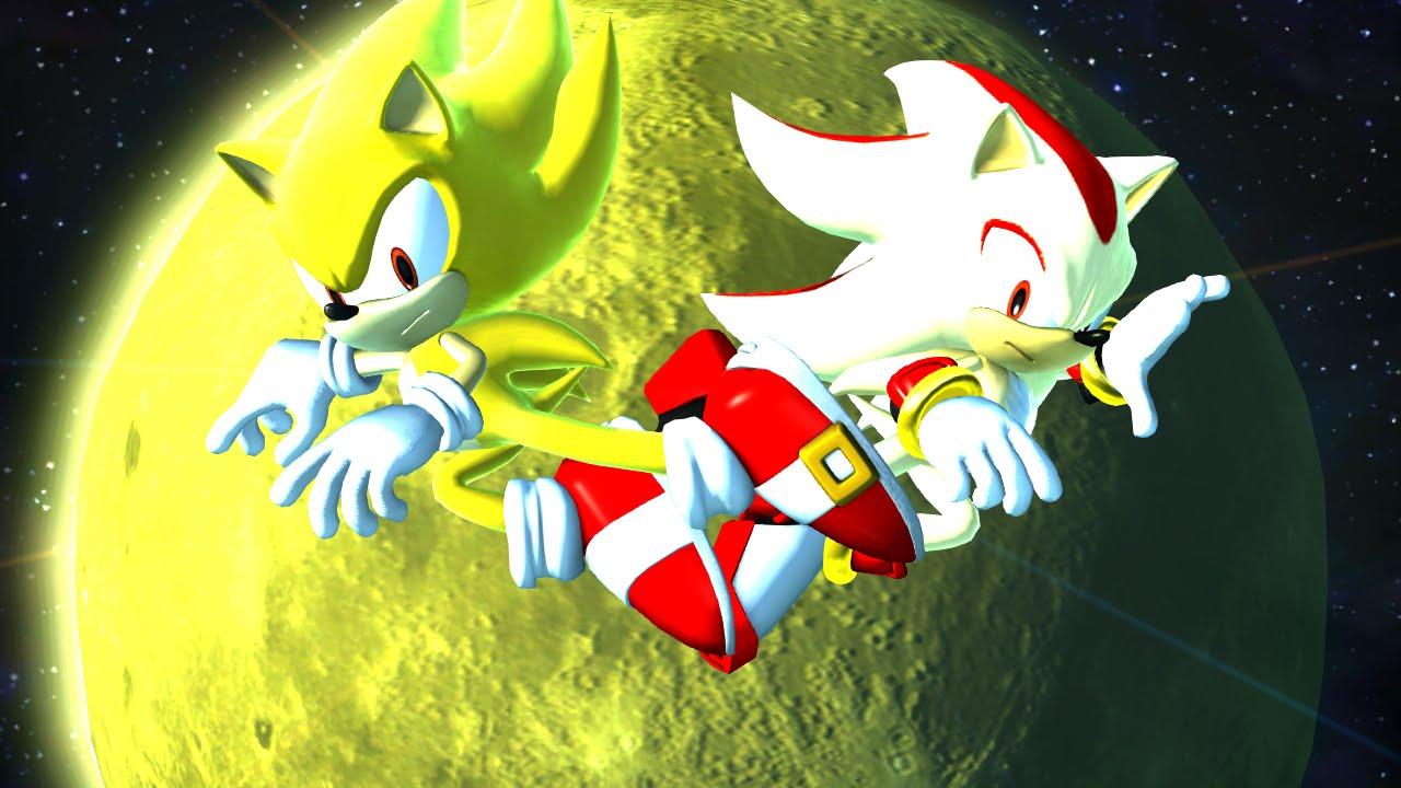Super Sonic VS Super Shadow (Hard Mode)