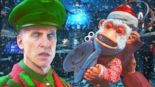 EPIC CHRISTMAS ZOMBIES SKINS - BLACK OPS 3 ZOMBIES MOD GAMEPLAY (Call of Duty BO3 Zombies Mod)
