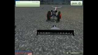 Скачать бесплатно мод мотокультиватора 'Крот' для игры фермер симулятор Farming Simulator 2013