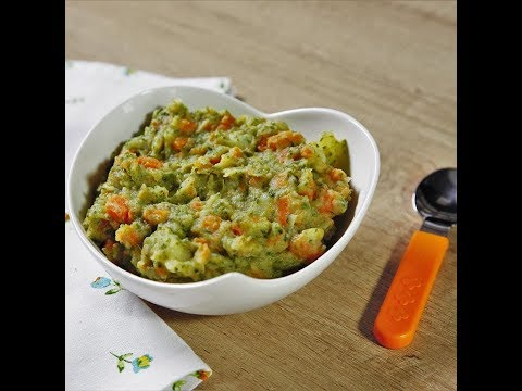 Piure de legume cu brânză Cheddar