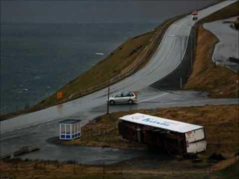 Storm in the Faroe Islands  24 -25. 11. 2011