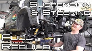 Complete Front Suspension & Steering Linkage Rebuild: Jimmy Resto Ep.11