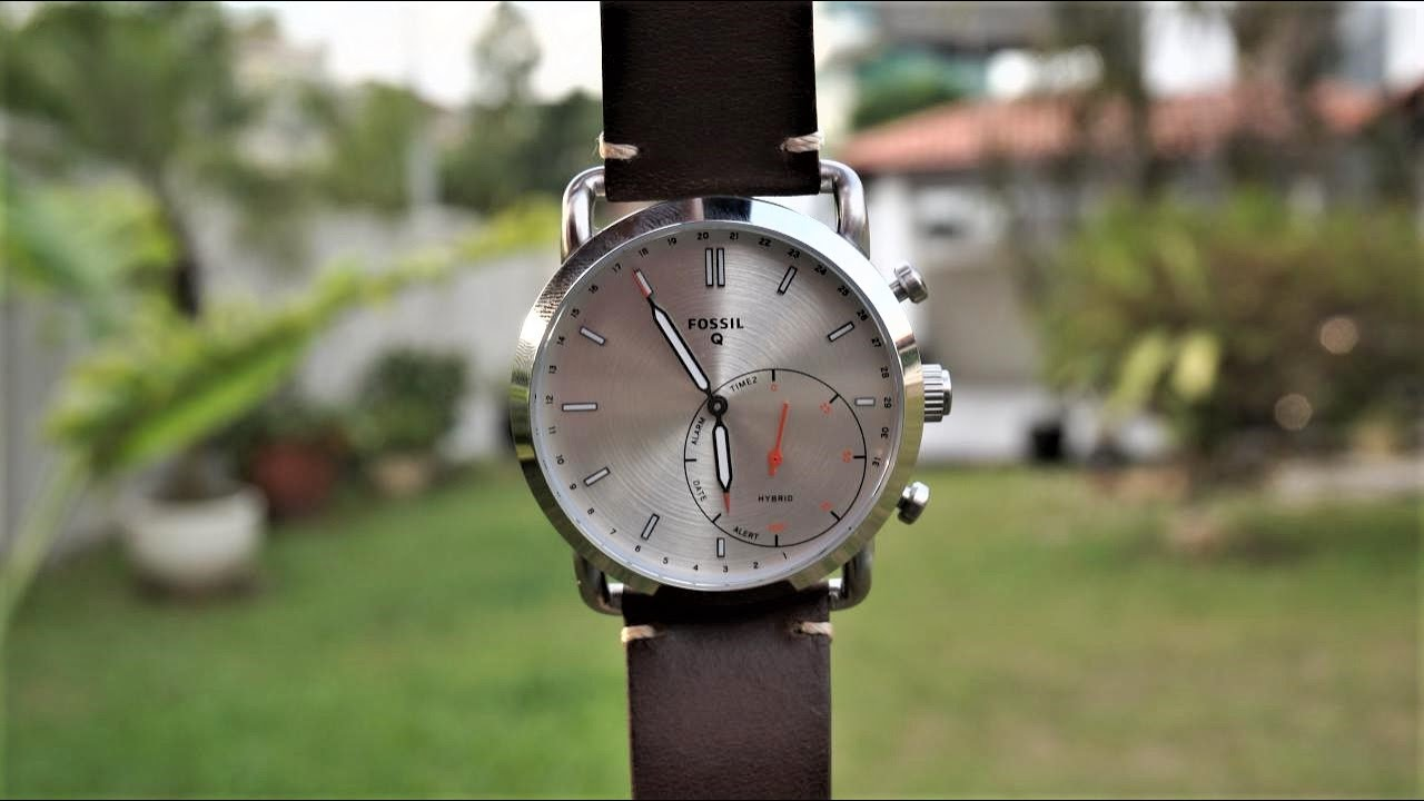 Fossil Q Commuter Hybrid Smartwatch Review Youtube