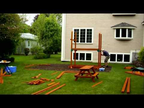 Rocky Mountain Retreat Installation Swing Set Installer