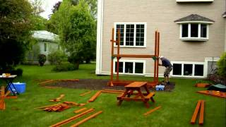 Rocky Mountain Retreat installation swing set installer