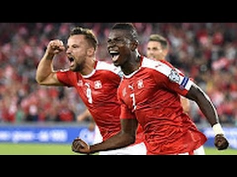 Switzerland vs Portugal 2-0 All Goals and highlights 06/09/2016