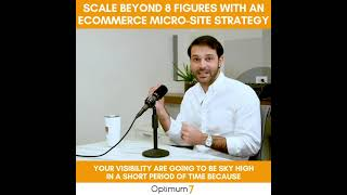 How To Scale Your eCommerce Business Beyond Eight Figures Using Microsite Strategies