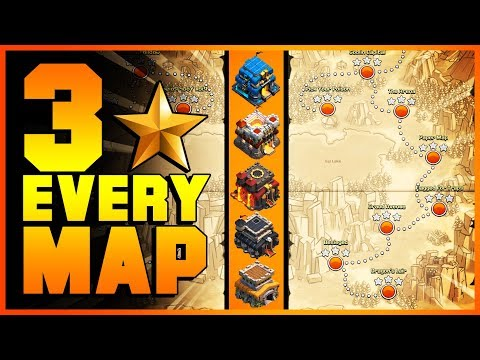 EASY METHODS How To 3 Star 25 NEW GOBLIN MAPS With TH8, TH9, TH10, TH11, TH12 | Clash Of Clans