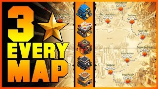 EASY METHODS How to 3 Star 25 NEW GOBLIN MAPS with TH8, TH9, TH10, TH11, TH12   Clash of Clans