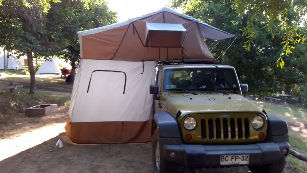 Carpa de techo pacampau aventura roof tent youtube Cocinilla a gas 1 plato
