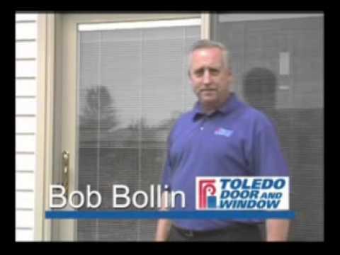 Toledo Door and Window Features Windows with Blinds You Never Clean