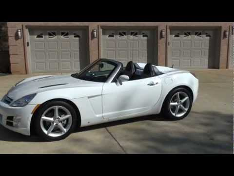 Wonderful 2007 SATURN SKY CONVERTIBLE AUTOMATIC WHITE FOR SALE SEE WWW SUNSETMILAN COM