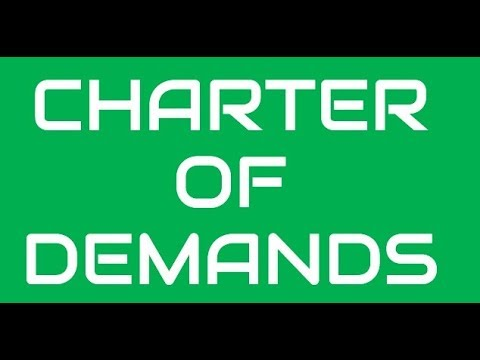 GDS Employees Charter of Demands for Strike on 23 Aug 2017