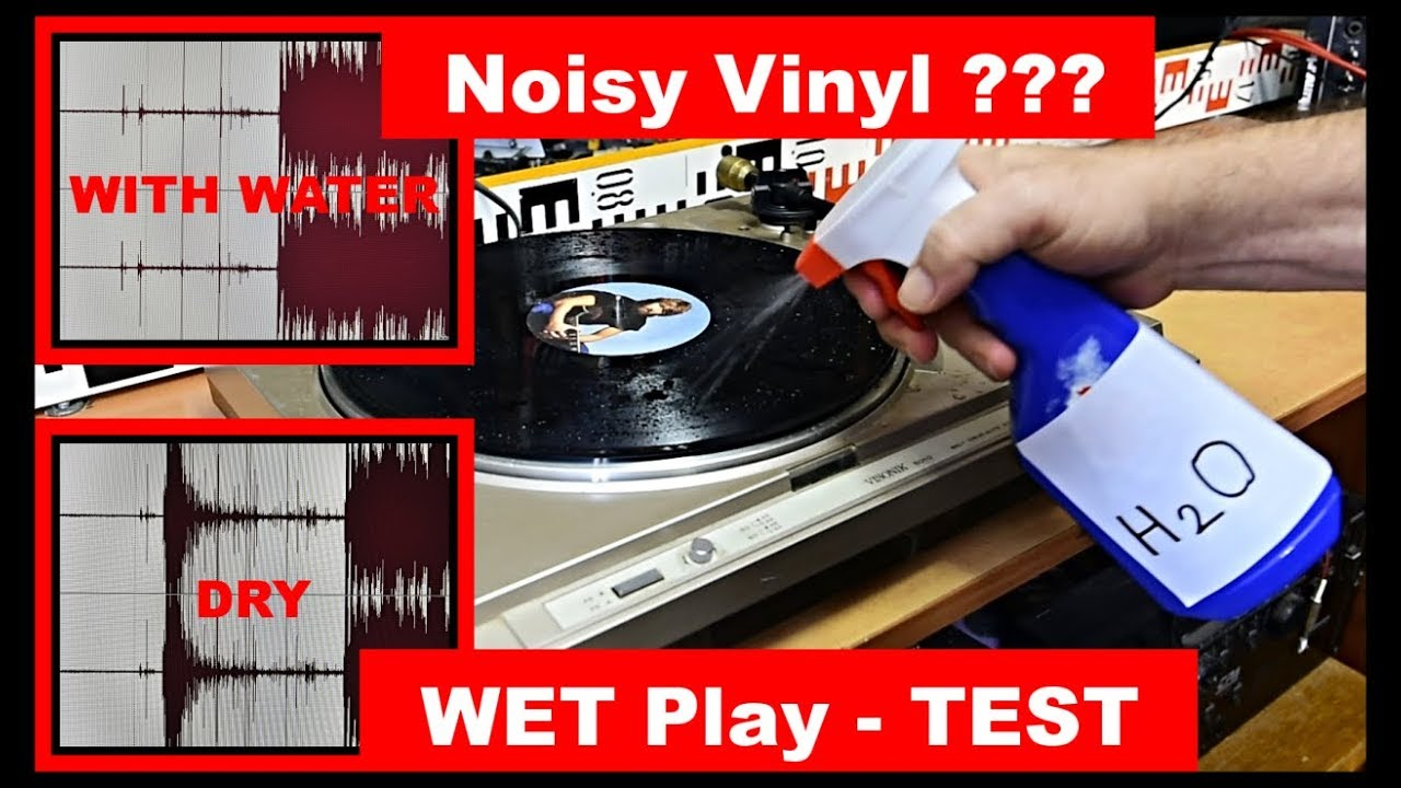 Noisy Vinyl How To Play Lp Vinyl Records Wet Under Water