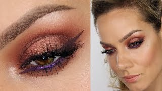 Copper Eyeshadow MakeUp Tutorial | Urban Decay Naked Heat Palette | Shonagh Scott
