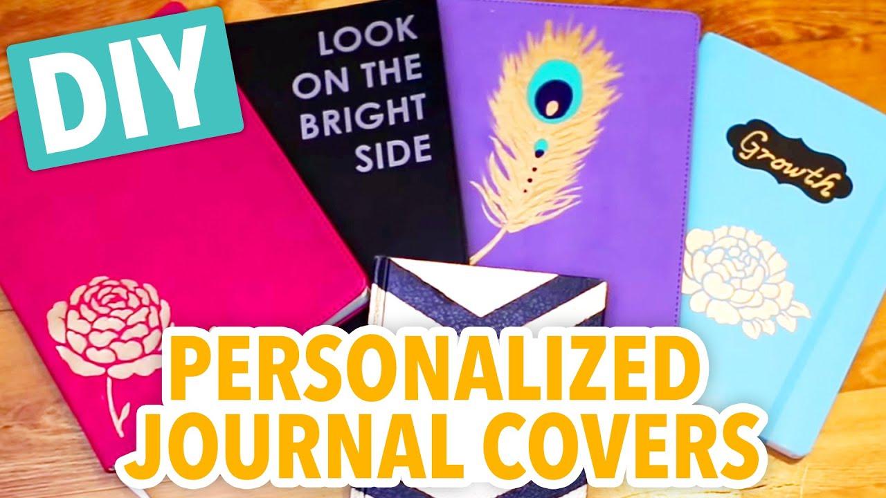 diy personalized journals hgtv handmade youtube