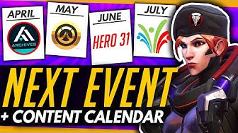 Overwatch | NEW CONTENT CALENDAR + Everything We Know About The Archives Event!
