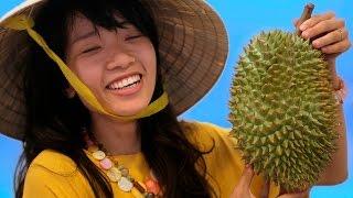 Jak smakuje durian? - Test wietnamskich owoców cz. 1