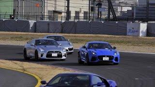 【CARトップTV第9回】最新スーパーカー5台本気レース! New super car  battle