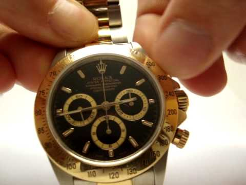 Rolex Daytona Cosmograph Watch 16523 Video Review Youtube
