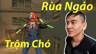 Cùng thanh niên Rùa Ngáo chơi lầy chặn lỗ chó Zombie Nano CFQQ : Anh Đã Già Xạo Chó