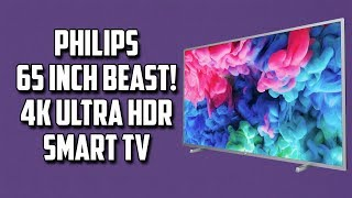Philips 4K Ultra Slim Ultra HD LED TV 55 inch price in Doha