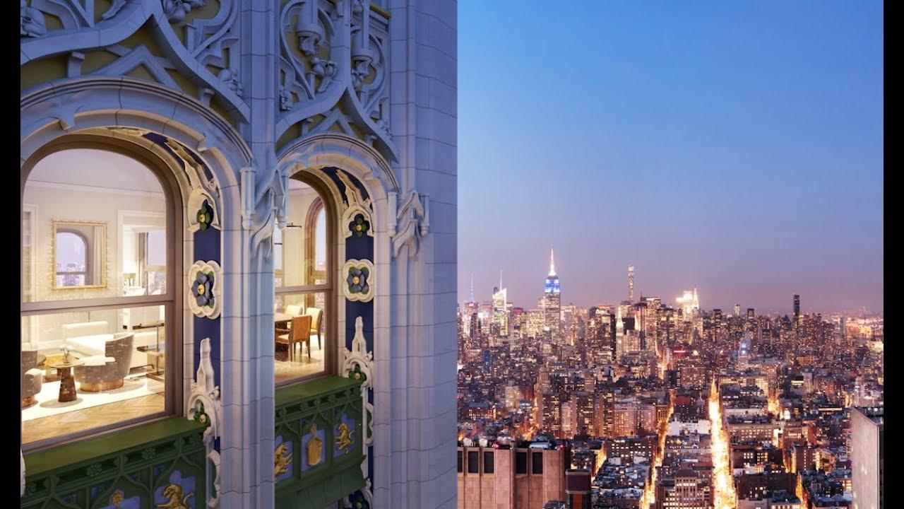 Woolworth Tower Residences Apartment Manhattan New York