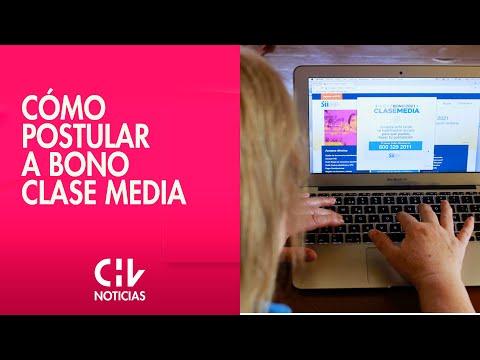 Revisa cómo postular: Ya está habilitada la plataforma para acceder al Bono Clase Media
