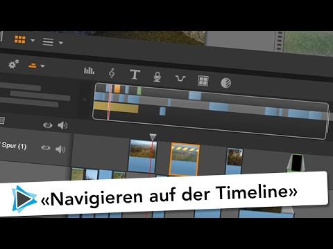 Pinnacle Studio 20 Deutsch Navigieren auf der Timeline Video Tutorial
