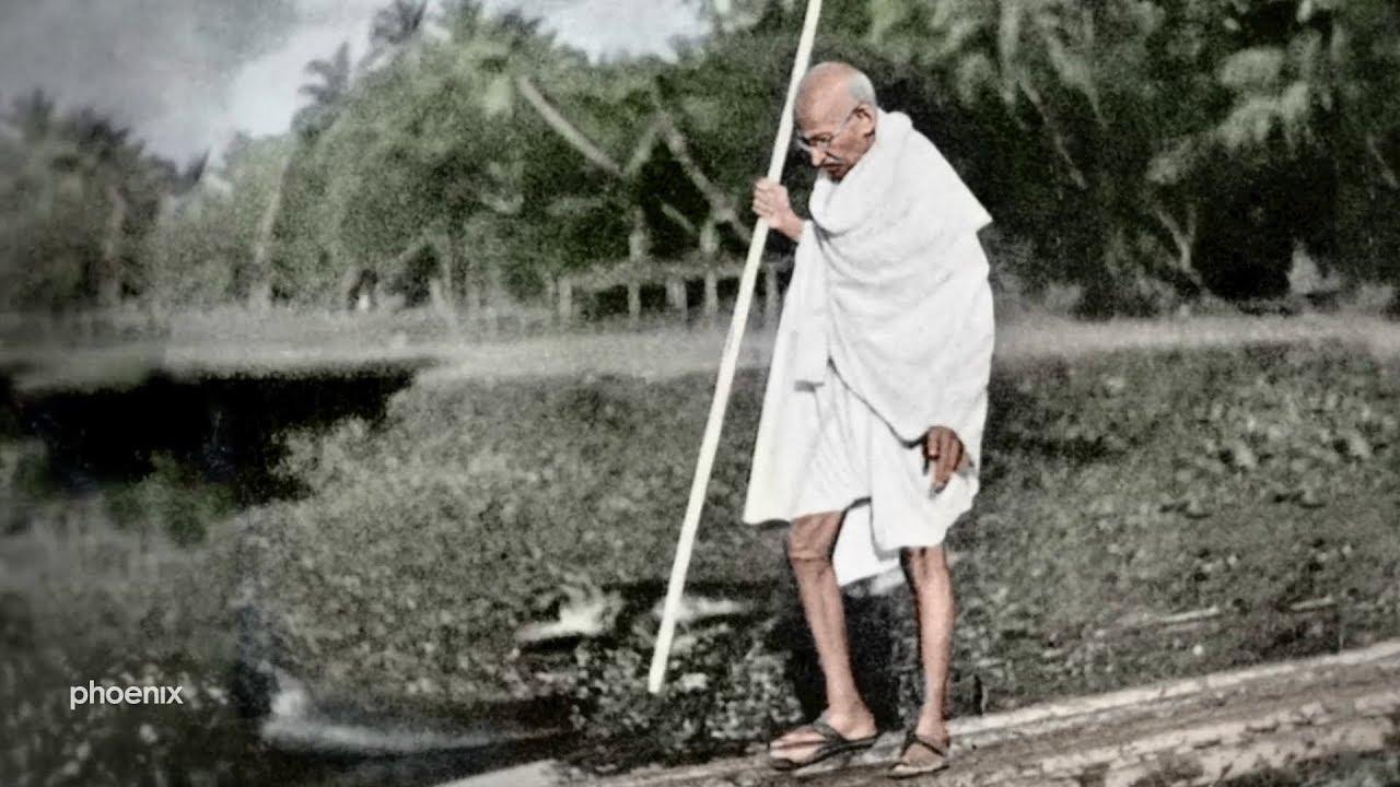 Mahatma Gandhi Mensch Mythos