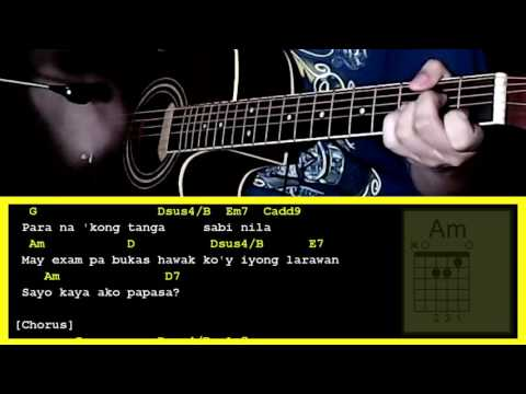 Hay Nako by LJ Manzano-Guitar Chords & Strumming Pattern - YouTube