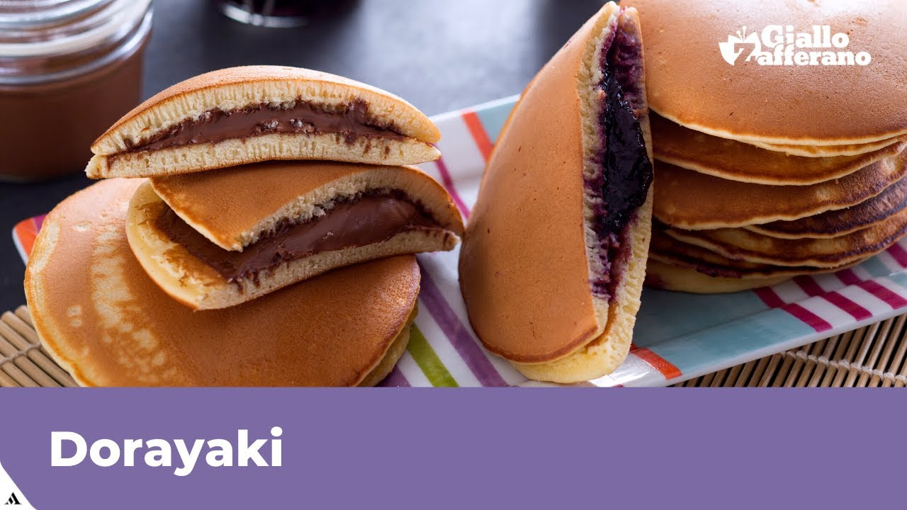 Dorayaki Ricettait.Dorayaki Japanese Pancake Recipe Youtube