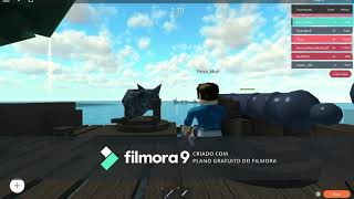 Playing Roblox and other games with my Miguin Murilo