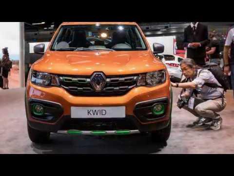 Renault Kwid Outsider Concept. 2016 Sao Paulo Show