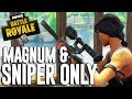 Download Magnum and Snipers Only!! Fortnite Battle Royale Gameplay - Ninja