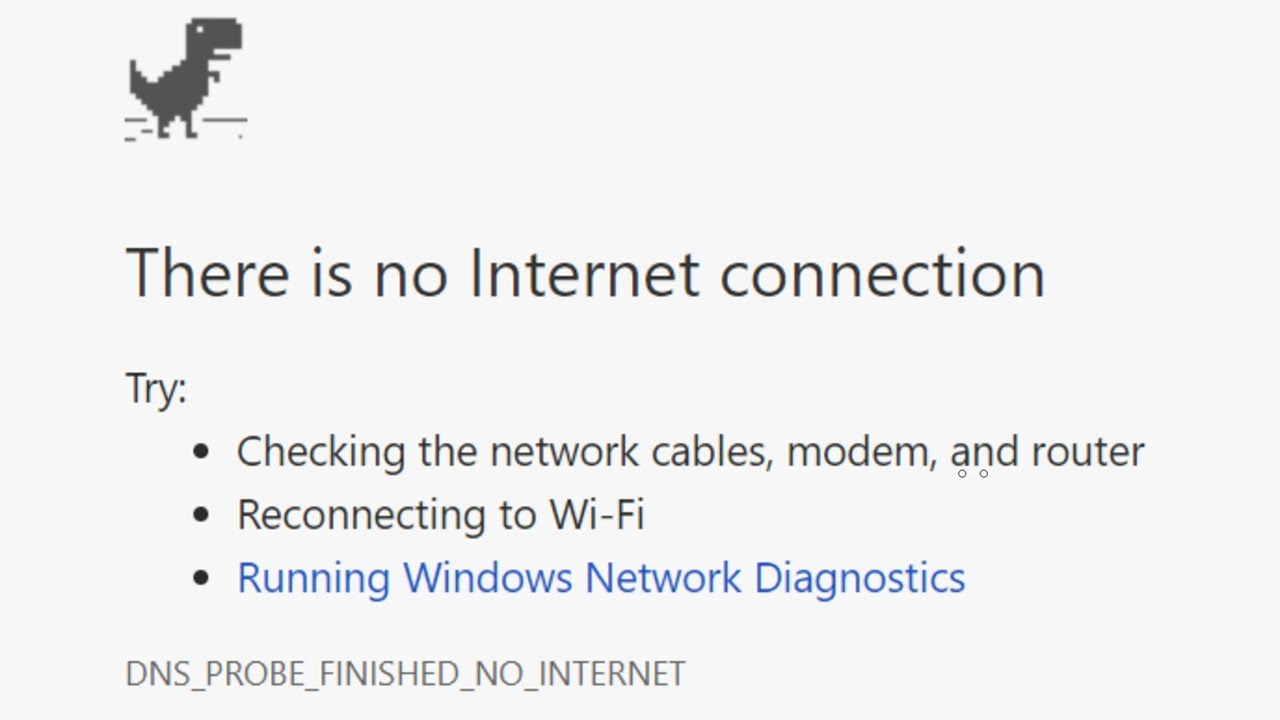 How To Fix There Is No Internet Connection On Chrome