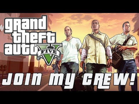 Grand Theft Auto 5 | Join My Online Crew! (Prizes, Benefits, & Fun!)