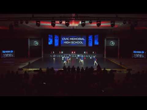 2019 DTU Nationals Finals Small Varsity Pom Civic Memorial High School