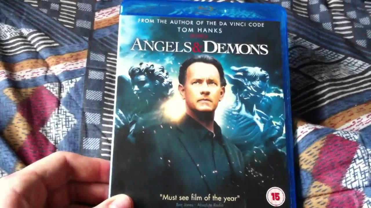 The Da Vinci Code And Angels Demons Blu Ray Boxset Unboxing Review