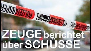 AUGENZEUGE IN HALLE: Feuergefecht mit Polizei vor Döner-Imbiss
