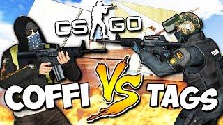 CS:GO - COFFI VS TAGS (УГАР) - Пиратские бойни! #26